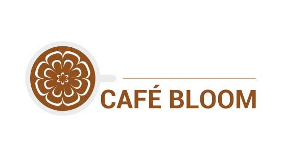 Cafe Bloom-Logo-for dark background