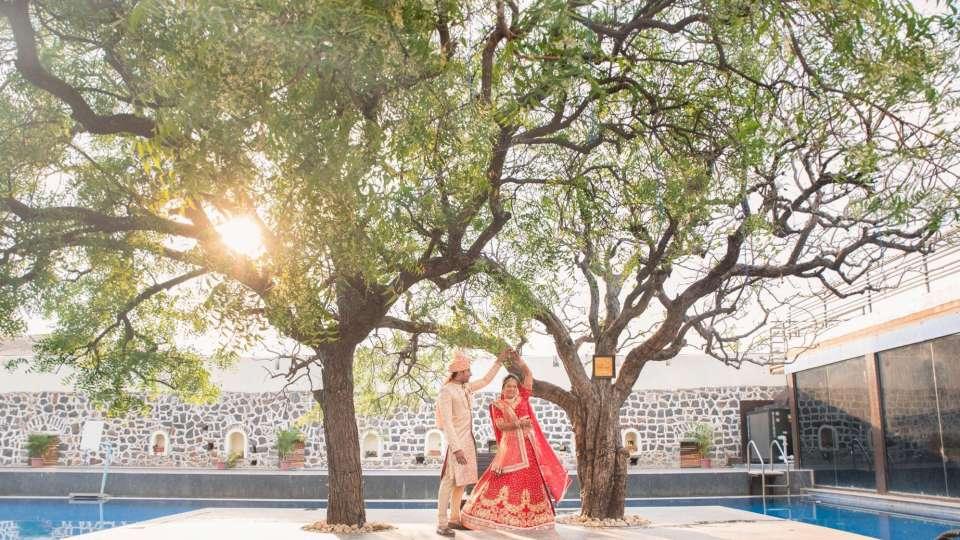 Destination weddings in Pune, Marriages in Pune, Fort Jadhavgadh, Pune