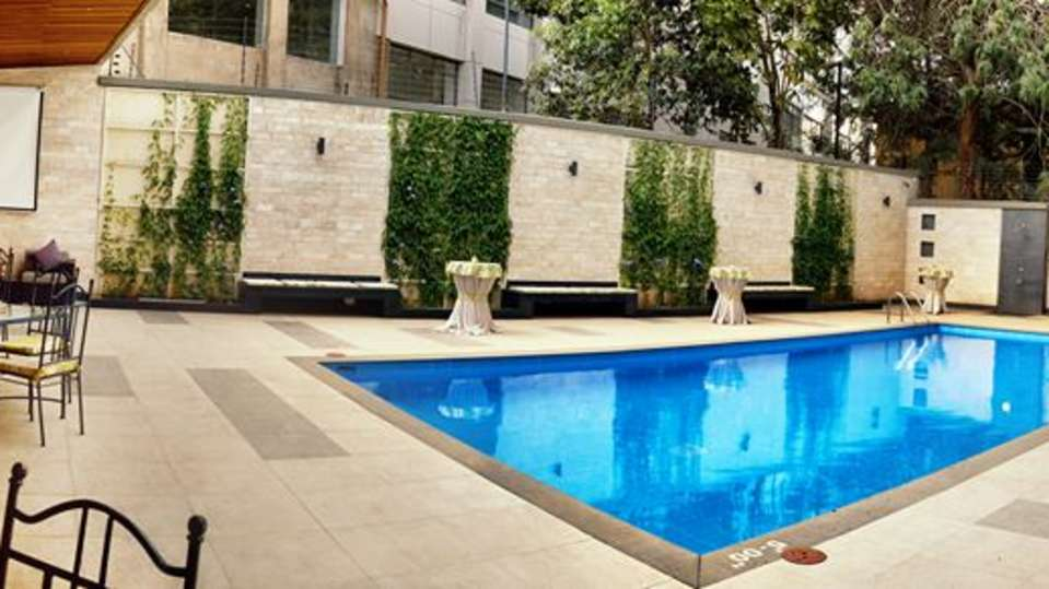Swimming Pool at Restaurant at The Zehneria Portico Nairobi 5 Star Hotels in Nairobi 6