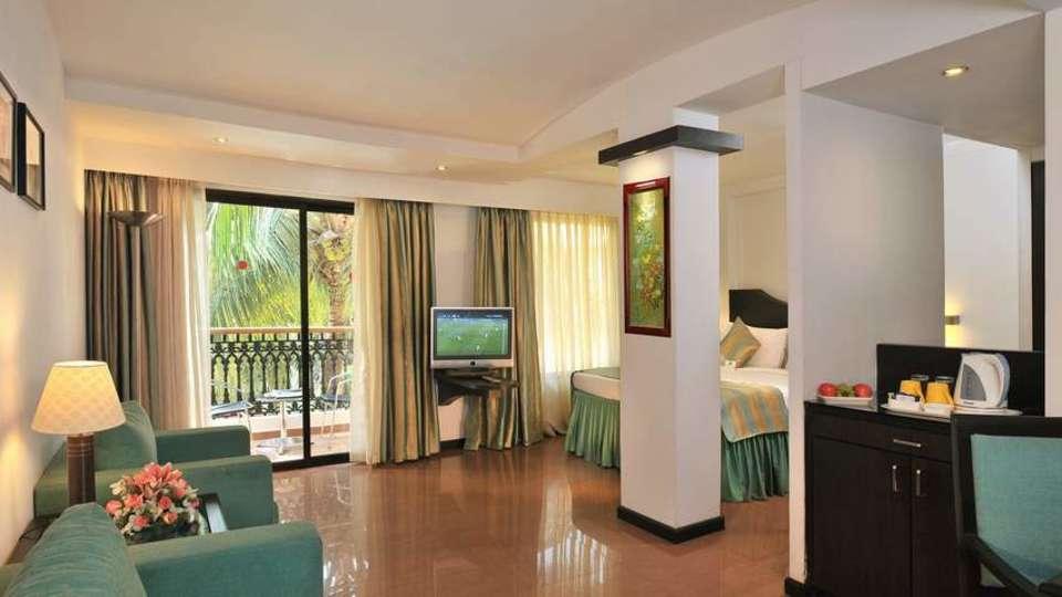 Deluxe Rooms at Phoenix Park Inn, Goa - A Carlson Brand Managed by Sarovar Hotels, best resorts near goa beach