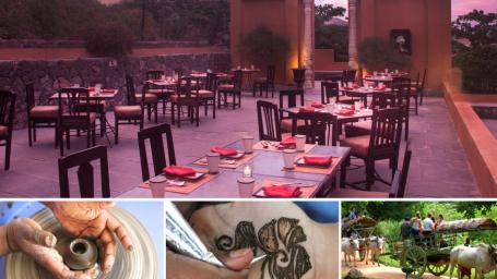 Weekend Jatra Brunch at Fort Jadhavgadh Heritage Resort Hotel Pune