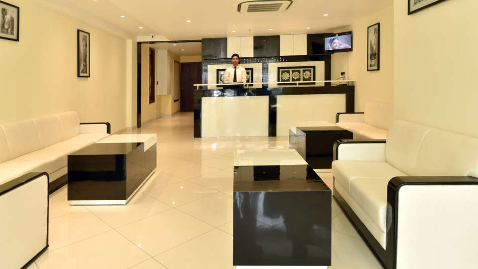 Lobby Reception The Prem Beacon Hotel Jodhpur