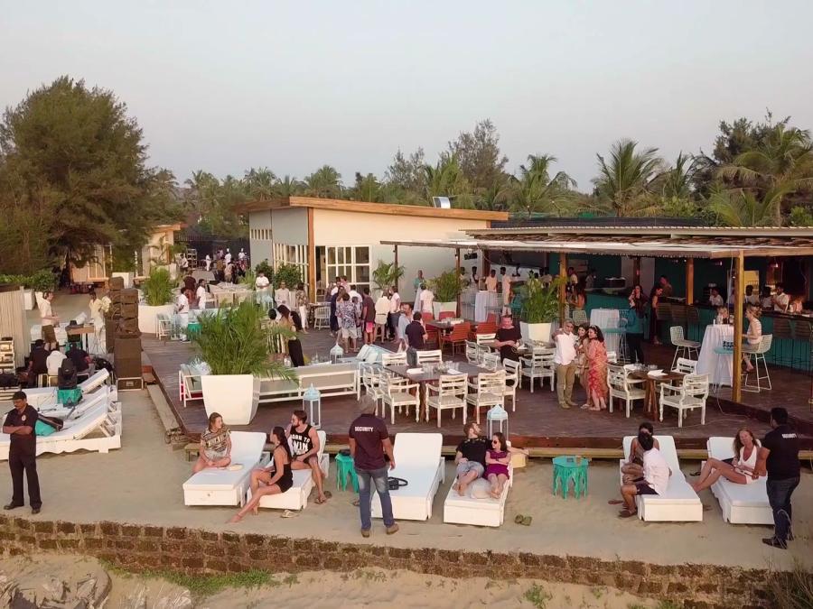 alt-text Resort in Morjim, Living Room Beach Resort, Goa, Morjim Resort