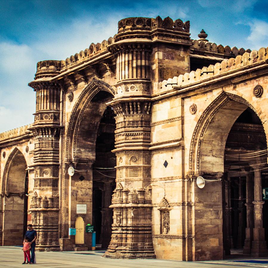 Jama Masjid Ahmedabad heritage