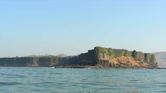 Suvarnadurg fort Palande Beach Lotus Beach Resort Murud Beach-Dapoli Ratnagiri