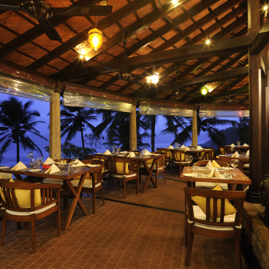 alt-text Restaurant at Niraamaya Retreats Surya Samudra, Kovalam Beach Resort 4
