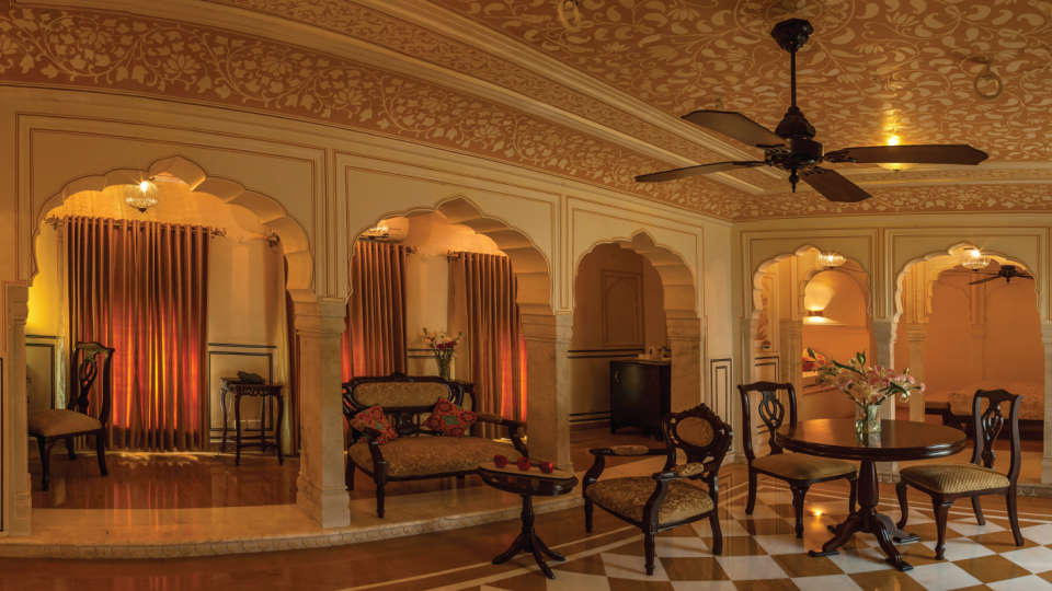 3 Royal Heritage Haveli By Niraamaya Retreats Rajasthan Hotel in Jaipur