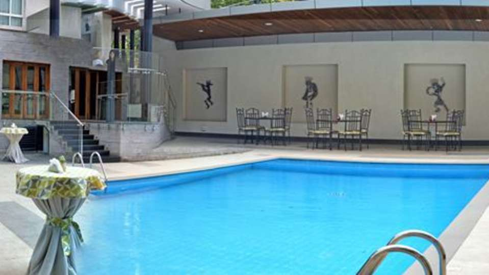 Swimming Pool at Restaurant at The Zehneria Portico Nairobi 5 Star Hotels in Nairobi 1