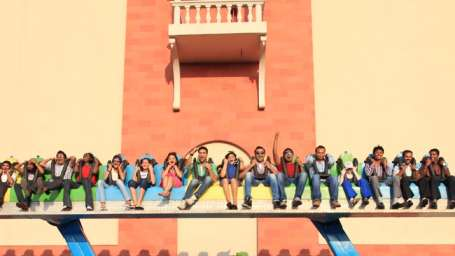 Thriller Rides - Bambo at Wonderla Kochi Amusement Park