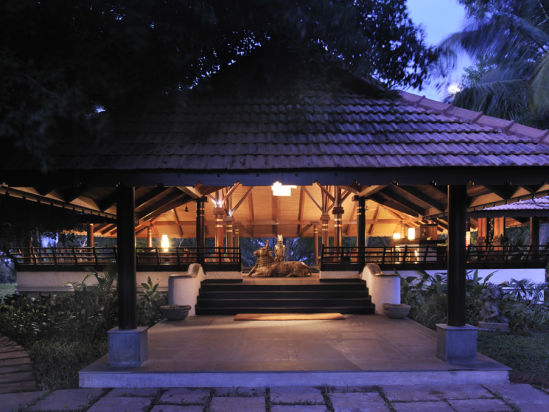 Restaurant at Niraamaya Retreats Surya Samudra, Kovalam Beach Resort 10