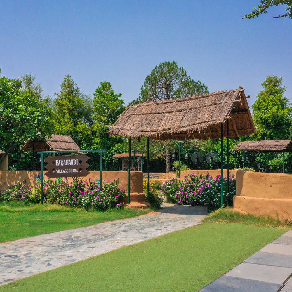 Barahandi  Heritage Village Resort and Spa  Dhaba in Manesar 2 2 ccdbc0
