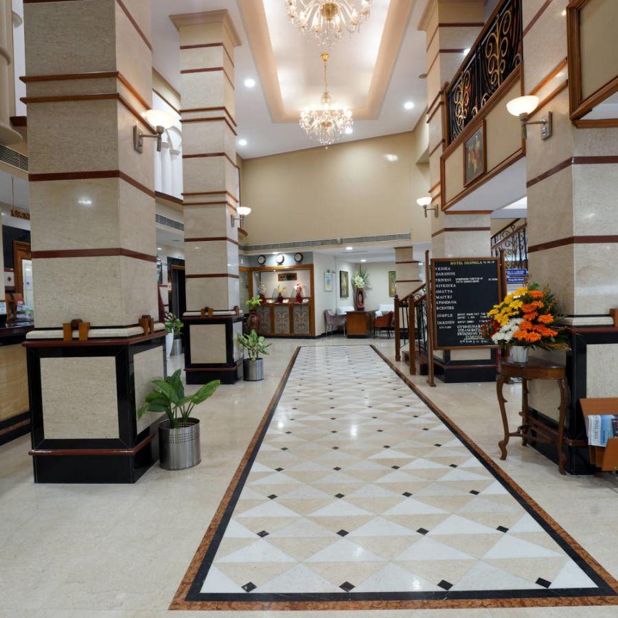 alt-text Lobby at Hotel Daspalla Visakhapatnam 4