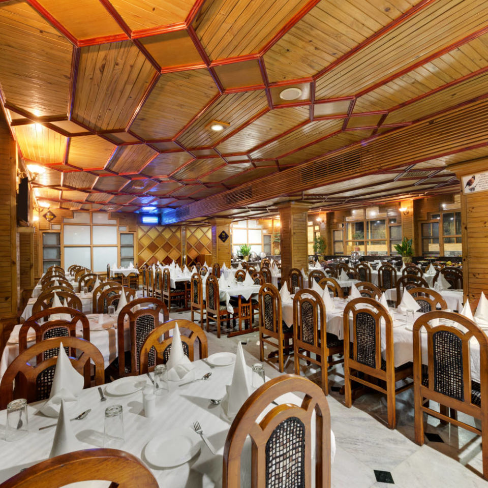 Restaurant at The Manali Inn Hotel 3