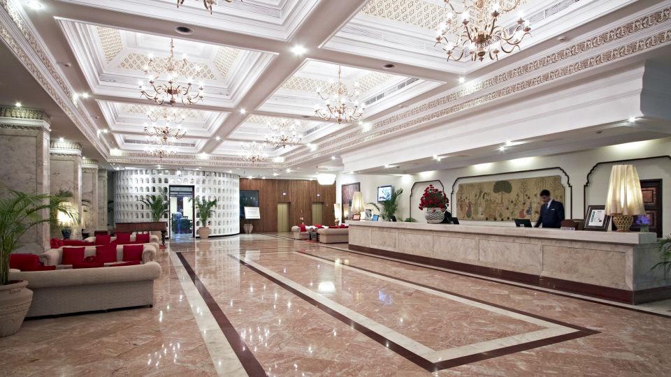 Lobby of Clarks Amer Jaipur - 5 Star Hotel near Jaipur Airport