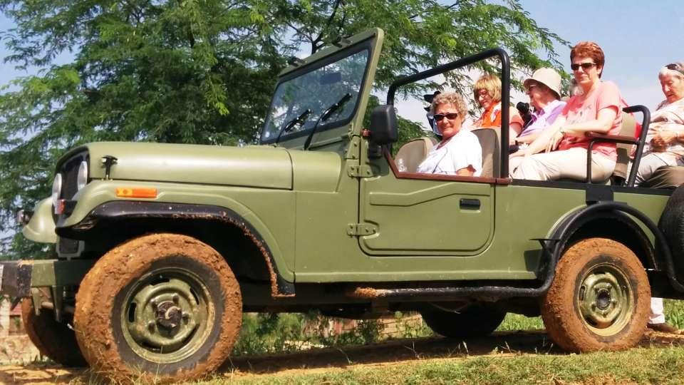 Jeep Safari at Umaid Lake Palace Hotel Kalakho Dausa Rajasthan