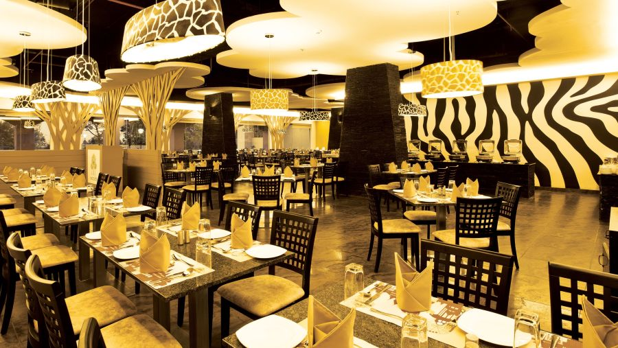 alt-text Woods Restaurant at Wonderla Resort Bengaluru