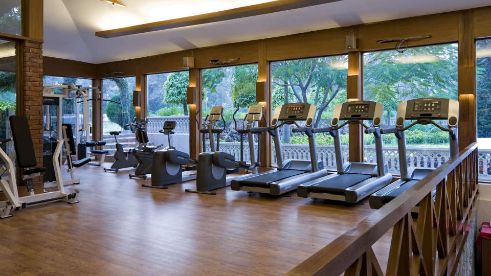 Gym and Fitness Centre at Hotel Clarks Amer Jaipur