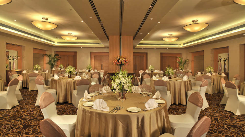 Banquet Hall at Hotel Park Plaza, Faridabad - A Carlson Brand Managed by Sarovar Hotels, 5 Star Hotels  in Faridabad