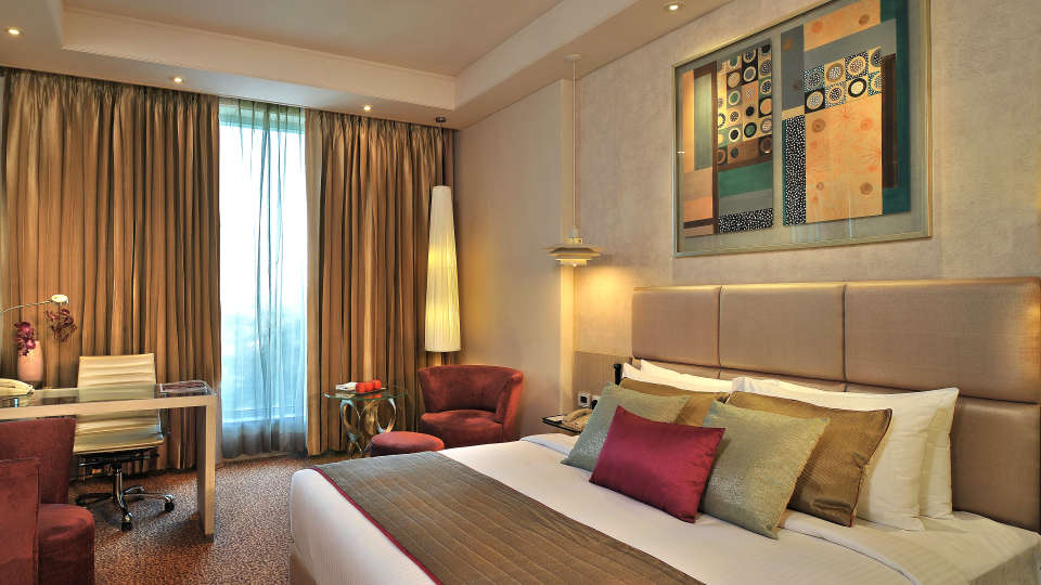 Premium Rooms at Hotel Park Plaza, Faridabad - A Carlson Brand Managed by Sarovar Hotels, 5 Star Hotels  in Faridabad