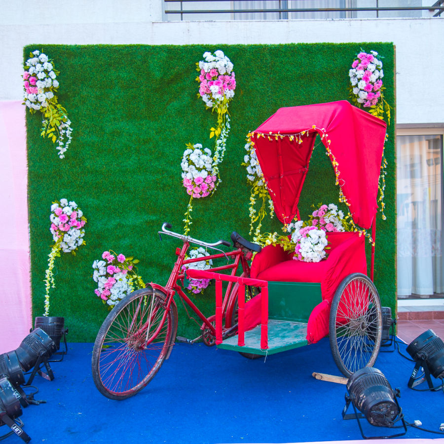alt-text  event decorations at Narayani Heights hotel, banquet hall in ahmedabad 8