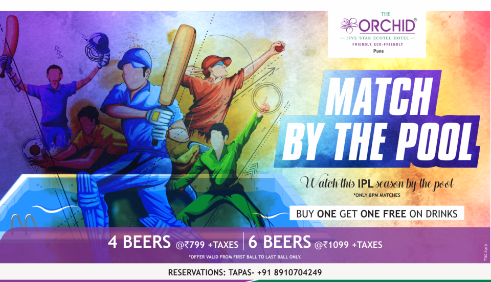 Match by the Pool at The Orchid Pune