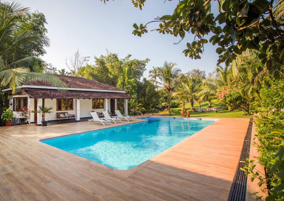 Pool In Villas , Hamsa Villas Goa, Best Resort In Goa
