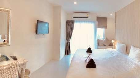 Deluxe Twin Room Panphuree Residence Phuket Luxury Hotel
