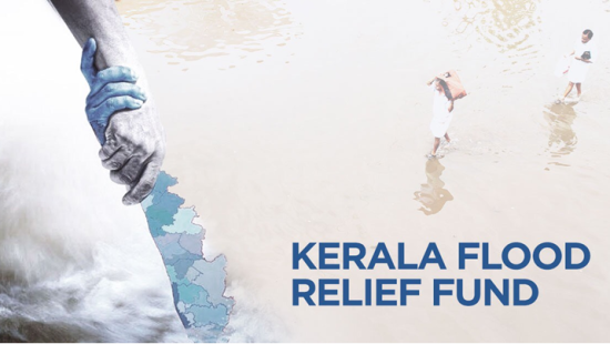 Sarovar Hotel Contributes to Kerala Flood Relief Fund