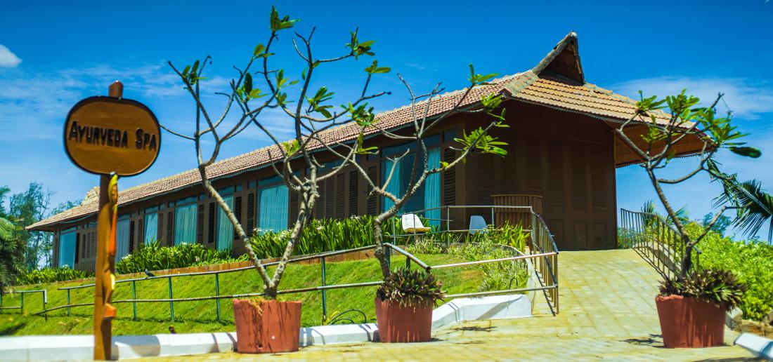 Spa at Chariot Beach Resort in Mahabalipuram 7
