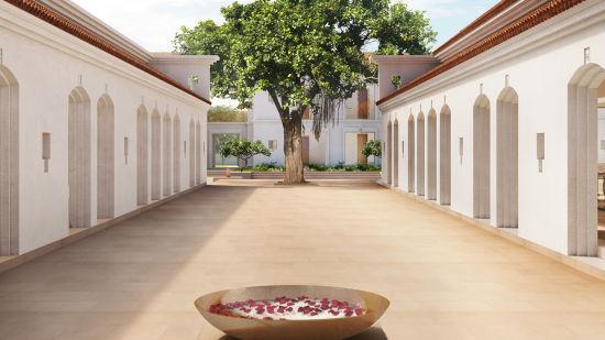 Courtyard, Marasa Sarovar Premiere Bodhgaya, Hotels in Bodhgaya 3