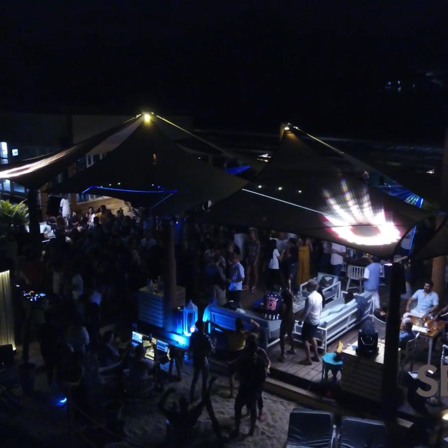 alt-text Morjim Beach Party, Living Room Beach Resort, Goa, Events in Morjim 14