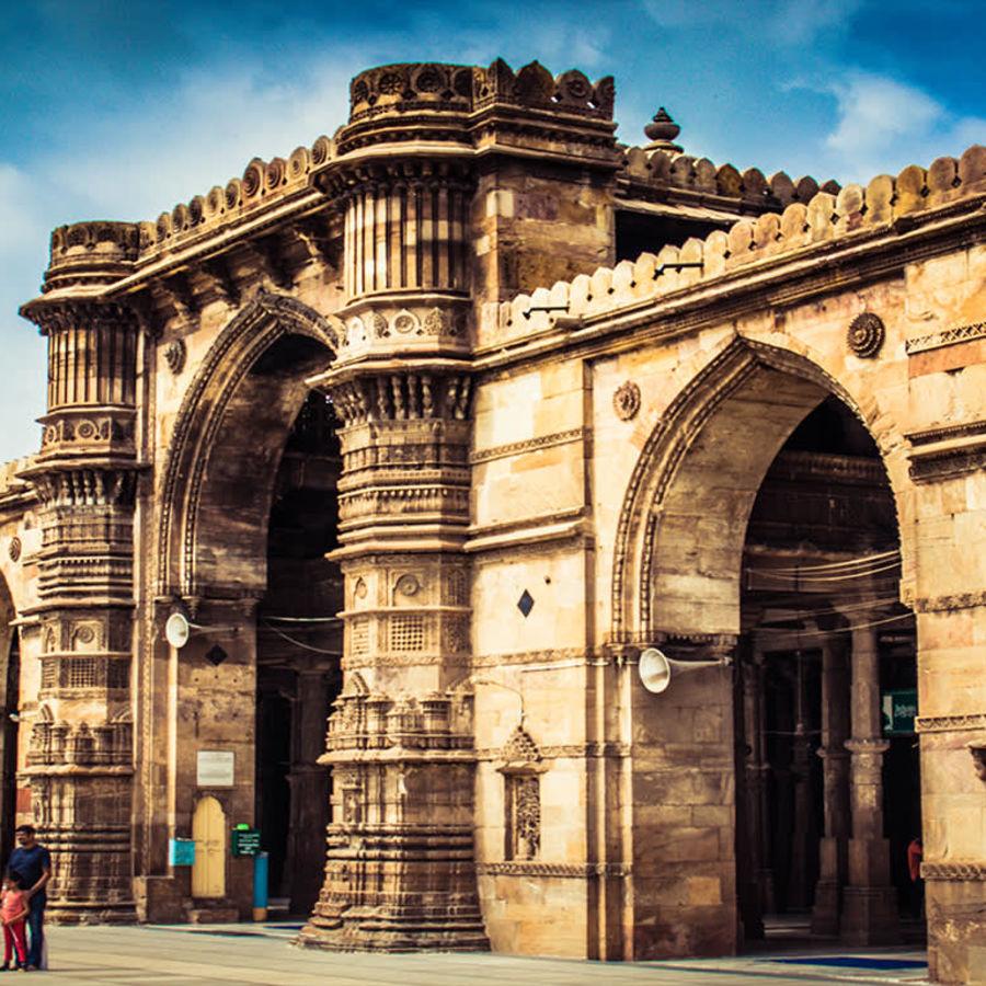 Jama Masjid Ahmedabad heritage okzljc