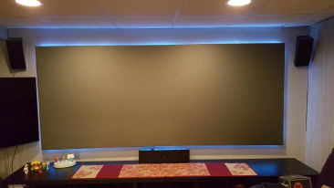 FRONT PROJECTION SCREEN at The Royal Hospitality Gurgaon