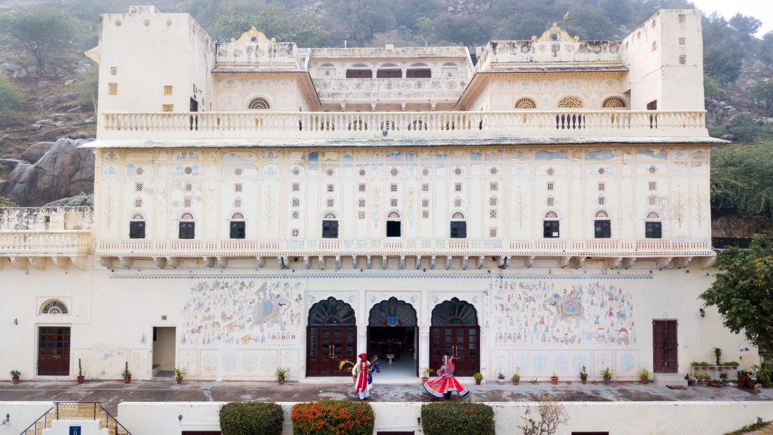 Facade of Bara Bungalow Kalwar, Jaipur 16, Jaipur Villa, Best Villa in Jaipur
