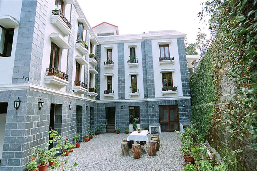 alt-text Sun n Snow Inn Hotel Kausani Kausani Facade Sun n Snow Inn hotels in kausani, Uttarakhand hotels, kausani hotels 1611