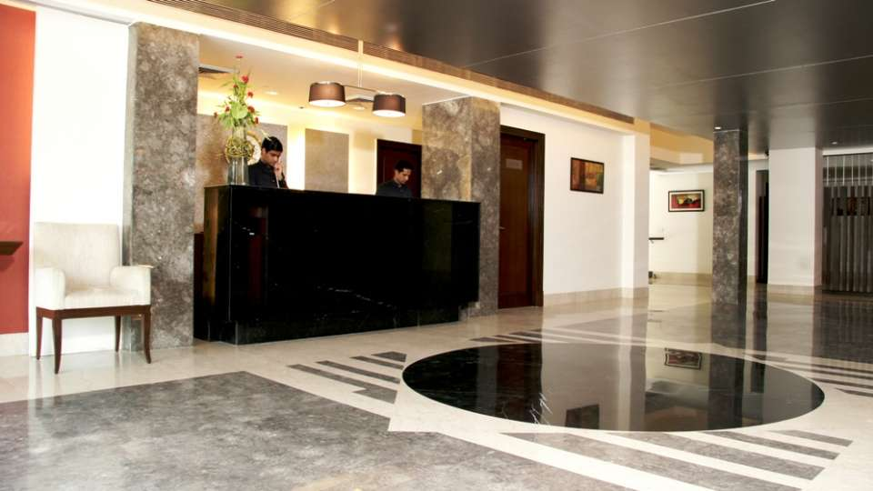 Reception The Muse Sarovar Portico Nehru Place New-Delhi