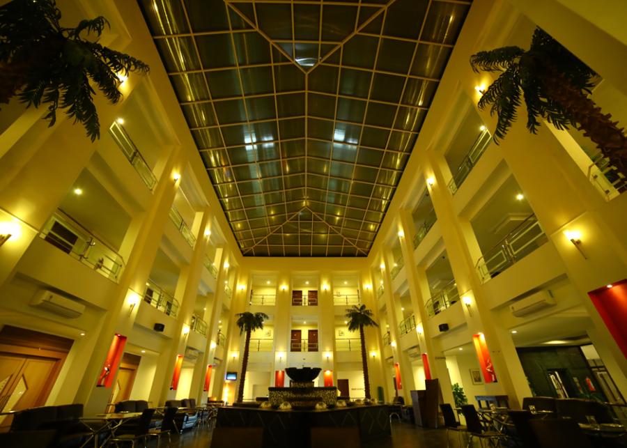 alt-text Atrium | Renest Gandhidham | Gujarat