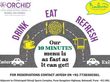 The Orchid Hotel, Pune Pune Eat
