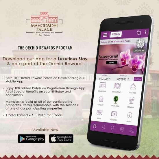 Orchid Rewards,Mahodadhi Palace