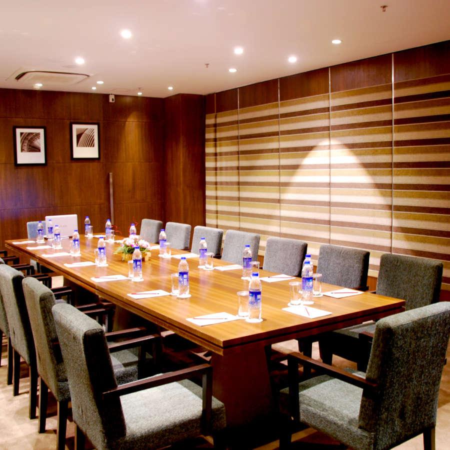 alt-text Larch 1 2 Banquet Hall. Levana Hotel Hazratganj Lucknow s Best Hotels