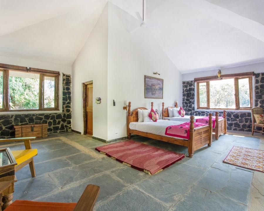 alt-text Best Resorts in Bandhavgarh, Rosa Bandhavgarh Meadows Tiger Safari Lodge, Villas 2