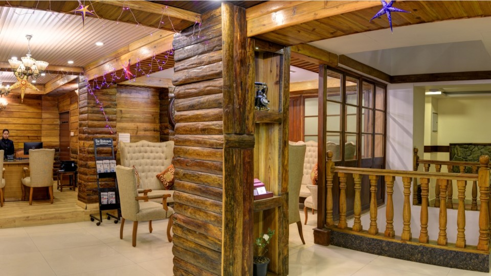 Lobby Summit Hermon Hotel Darjeeling Hotels