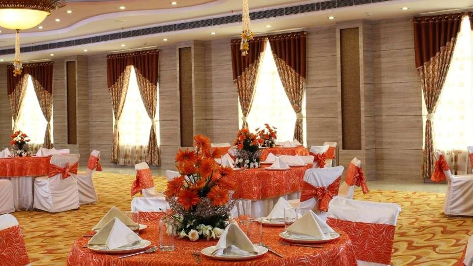 Banquet Hall at Nidhivan Sarovar Portico Vrindavan_ vrindavan hotels 278