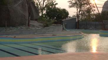 Hill View Resorts Ramanagara Swimming Pool at Rotary Hill View Resort near Bangalore 1
