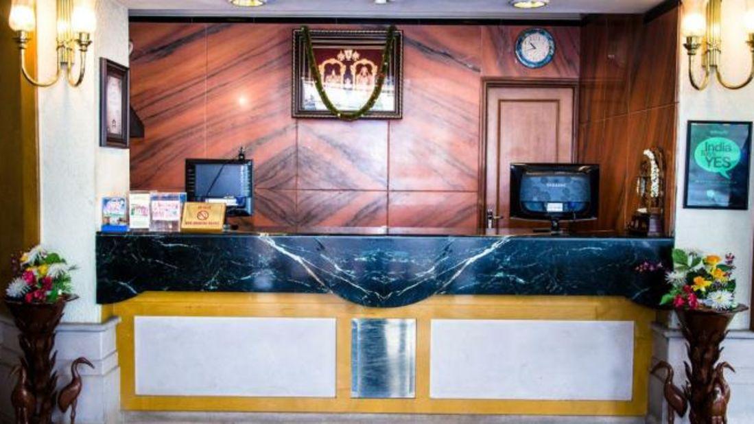 Reception Kalyan Residency Hotel in Tirupati