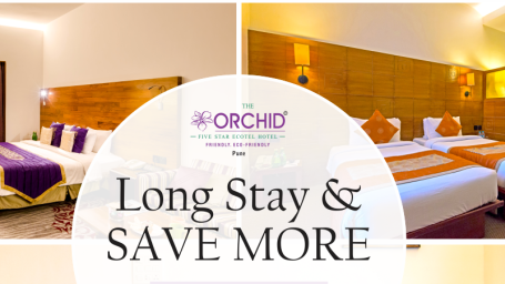 Long Stay Offer, The Orchid Hotel Pune, Hotel Offers In Pune
