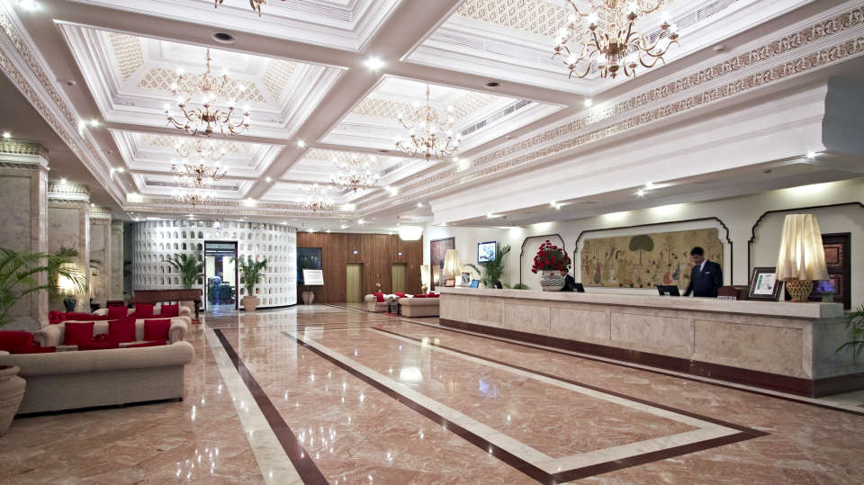 Lobby of Hotel Clarks Amer Jaipur - 5 Star Hotel near Jaipur Airport