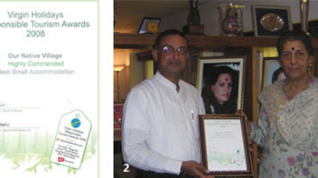 Virgin holidays responsible holiday Awards for Our Native Village - best resorts near bangalore 103