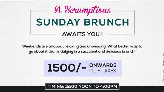 The Orchid - Five Star Ecotel Hotel Mumbai Sunday Brunch