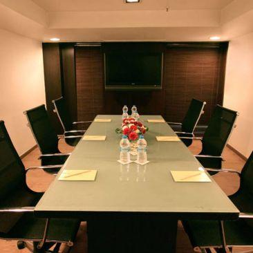 Iris Hotel Bangalore Board Room at Iris Hotel on Brigade Road Bangalore
